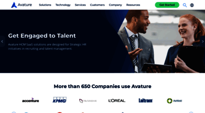 avature.net - avature recruiting solutions: crm software & applicant tracking system