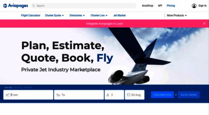 aviapages.com - aviapages.com - tools for business aviation
