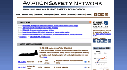 aviation-safety.net - aviation safety network