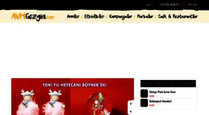 avmgezgini.com - avm gezgini - alışveriş merkezleri, mağazalar, cafe ve restorantlar, etkinlikler