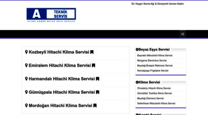 ayazteknik.net - 0850 302 34 34  klima, kombi ve beyaz eşya servisi