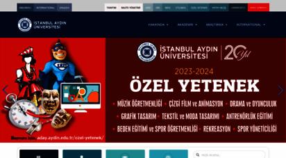 aydin.edu.tr -