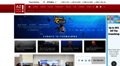 azonceoldu.com - son dakika haberler, gazeteler - az önce oldu