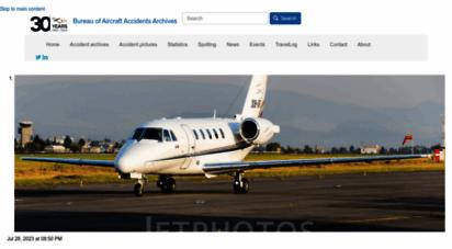 baaa-acro.com - aircraft crashes record office