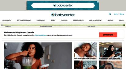 babycenter.ca - pregnancy, baby and toddler health information at babycenter canada - babycenter canada