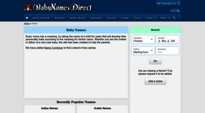 babynamesdirect.com -