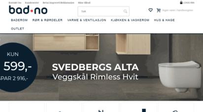 bad.no - bad.no - alt til badet  nettbutikk med norges beste utvalg p&229 bad