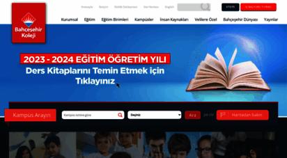 bahcesehir.k12.tr - bahçeşehir okulları