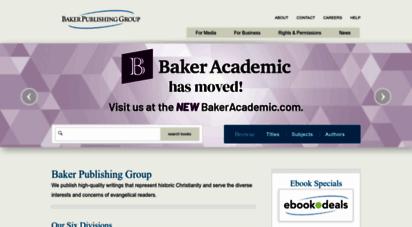 bakerpublishinggroup.com - homepage  baker publishing group