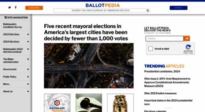ballotpedia.org -