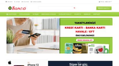 banco.com.tr - aradığını banco.com´da bulursun!