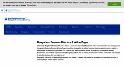 Welcome to Bangladeshbusinessdir com - ≡ Bangladesh Business