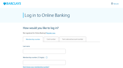 Welcome to Bank barclays co uk - Step 1: Your details