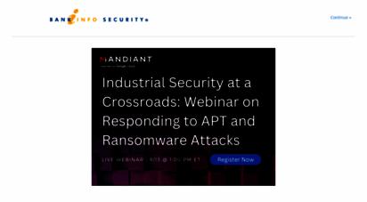bankinfosecurity.com - bank information security news, training, education - bankinfosecurity