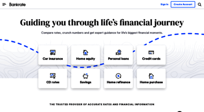 bankrate.com - bankrate: guiding you through life´s financial journey
