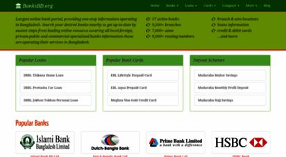 banksbd.org - bank branch atm loan card services in bangladesh