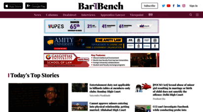 barandbench.com - bar and bench  indian legal news, judgments, live court s