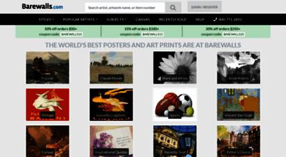 barewalls.com - posters, art prints, canvas & framed wall art at barewalls.com