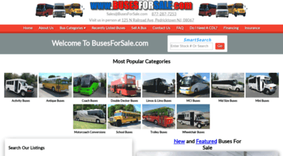 bargainbusnews.com - used buses for sale: tour buses for sale, school buses for sale, church bus - buses for sale