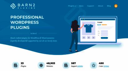 barn2.co.uk - quality wordpress & woocommerce plugins  barn2 plugins