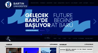bartin.edu.tr - bartın üniversitesi