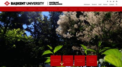 baskent.edu.tr - başkent üniversitesi