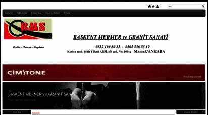baskentmermer.com - başkent mermerve granit sanayi