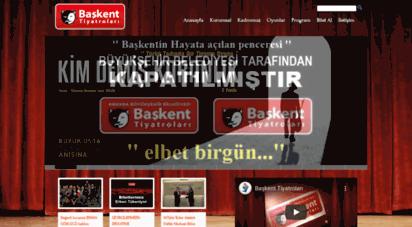 baskenttiyatrolari.com - ankara büyükşehir belediyesi başkent tiyatroları