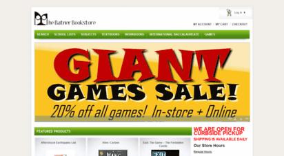 batnerbookstore.com -
