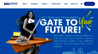 baucyprus.edu.tr -