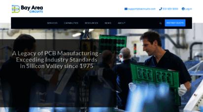 bayareacircuits.com - quick turn pcb manufacturing  bay area circuits