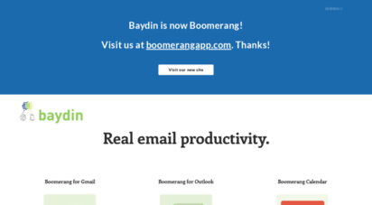 baydin.com - real email productivity  baydin