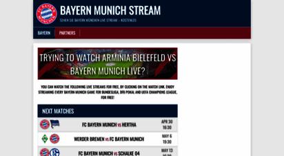 bayernstream.com - watch salzburg vs bayern munich live stream