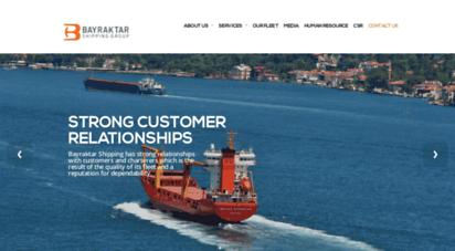 bayraktar.net - bayraktar shipping group of companies