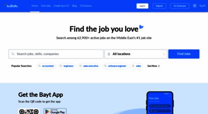 bayt.com - the middle east´s leading job site - bayt.com