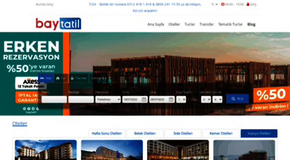 baytatil.com.tr - 25´e varan indirimli tatil fırsatı için şimdi rezervasyon yapın.
