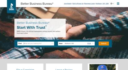 bbb.org - bbb: start with trust®  better business bureau®