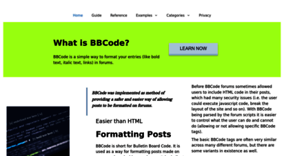 bbcode.org - bbcode.org, bbcode users guide and tricks on implementing it