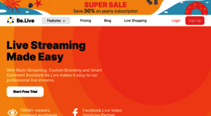 be.live - be.live - a new way for live streaming
