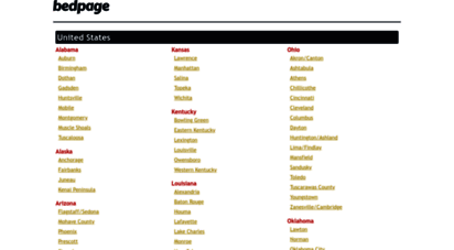 bedpage.com - new backpage alternative  site similar to backpage  backpage replacement