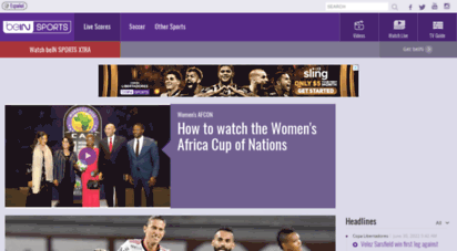 beinsports.com - bein sports - world´s leading live sports tv network - local editions