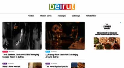 beirut.com - beirut.com - hidden gems, guides, blogs, restaurants, & things to do in lebanon