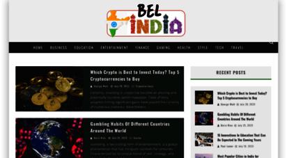 bel-india.com - bel-india - india magazine