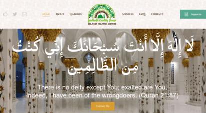 belfastislamiccentre.org.uk - belfast islamic centre