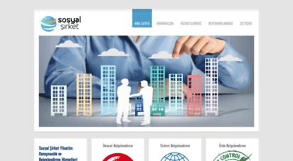 belgesi.net - sosyal şirket - kalite belgesi