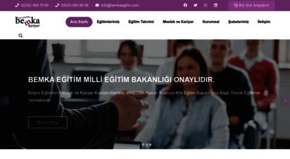 bemkakariyer.net - bemka eğitim kurumları,meslek, kariyer ve bilişim kursları