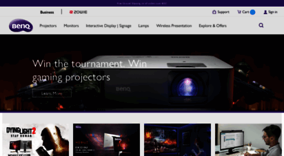 benq.eu - benq europe homepage - projector, monitor, business display, led lightning, speakers, zowie.