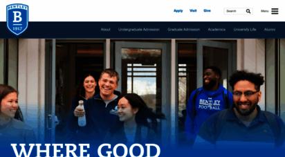 bentley.edu - bentley university - business school