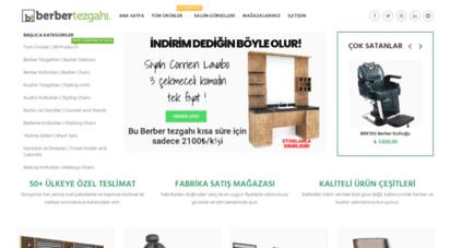 berbertezgahi.com - berber tezgahı ve berber koltuğu modelleri fabrikadan direkt satış.