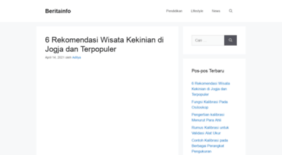 beritainfo.web.id - berita online harian terkini indonesia  beritainfo.web.id